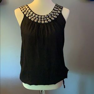 Monsoon fashion tank silver accents |Size 10 |
